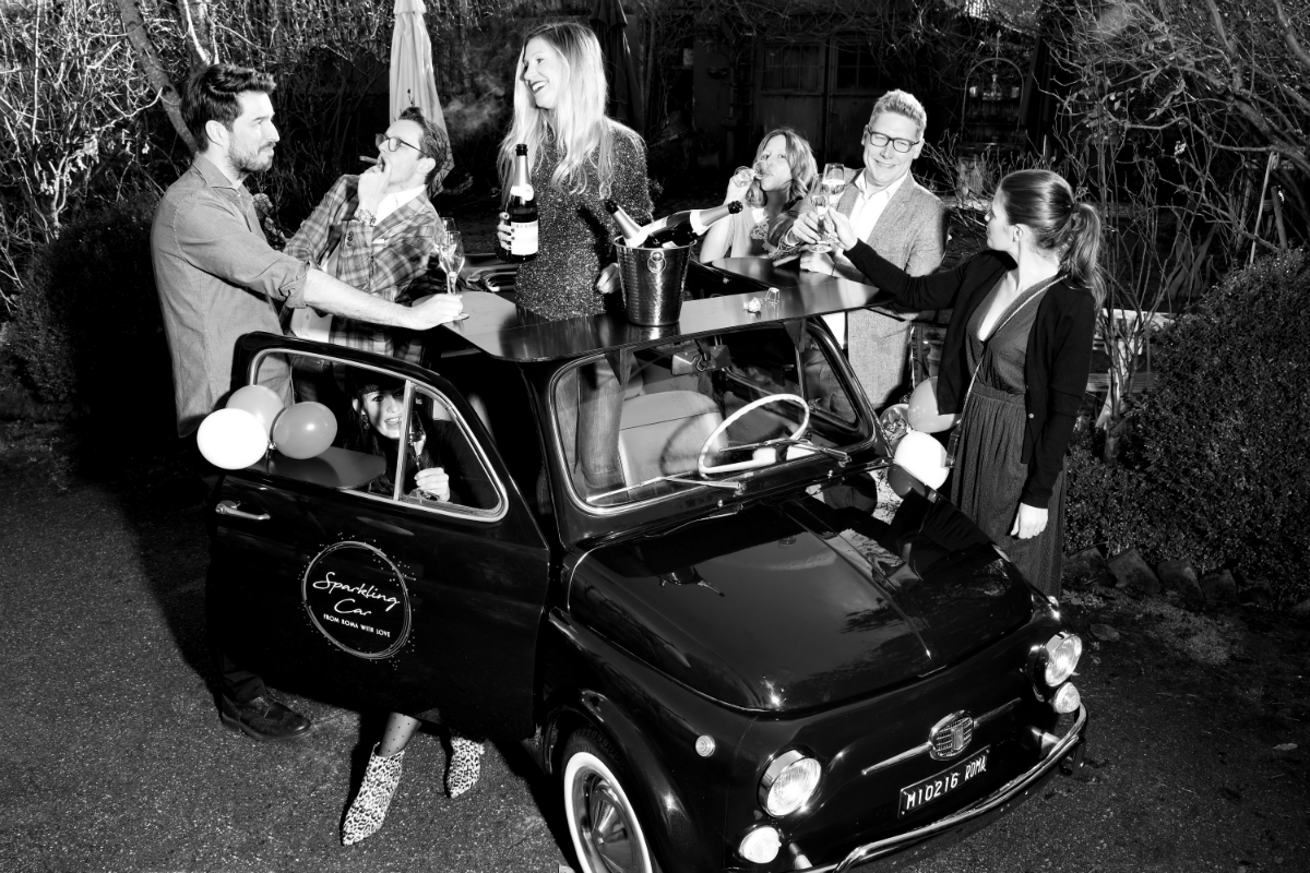 Sparkling Car Event Muenchen Prosecco Mobile Bar 4