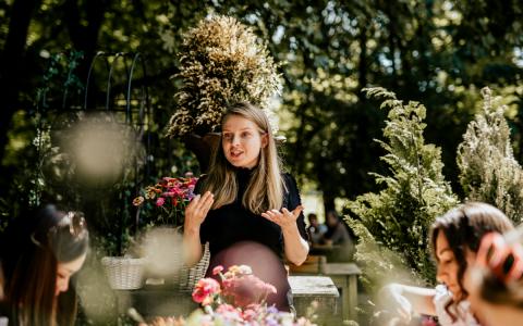 Blumentrends Hochzeiten Interview Karolina Classy Flowers 1